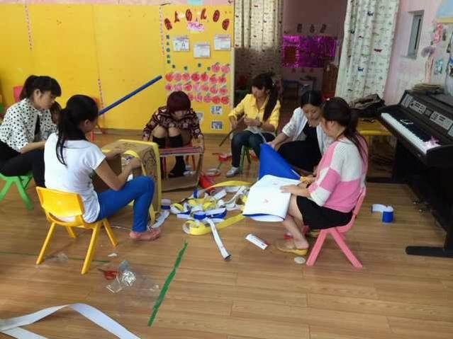 自制体育活动器材是幼儿园开展幼儿体育活动的保障